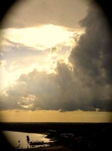 Threatening Thunderheads (Photography by Joanne Edith)