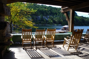 Peaceful Mohonk Porch (Spring, 2012)