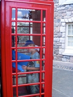 Great Britain (WDW) Phone Booth