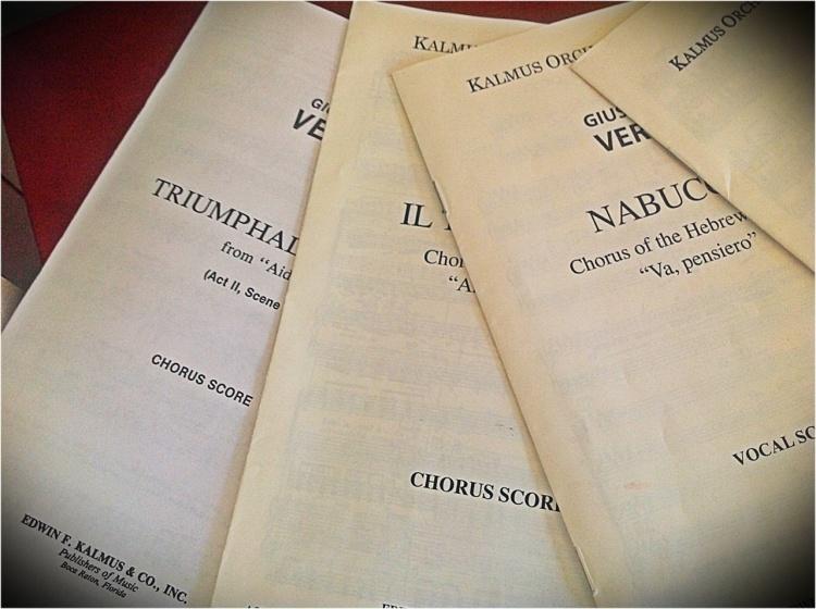 Vocal score: Verdi