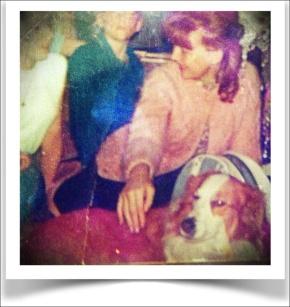 Eileen, Matthew, Joanne & Duchess, circa 1959.