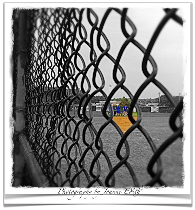 Through The Sandlot Fence