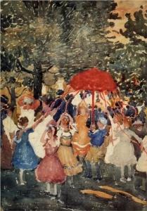 Artist: Maurice Prendergast (In public domain)