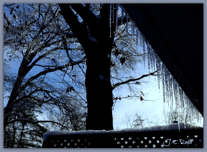 Icicles at Twilight