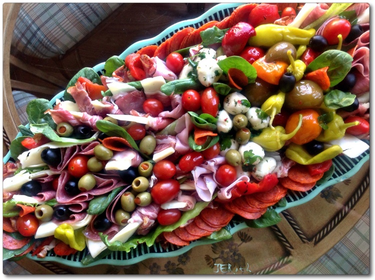 Culinary Creation: Antipasto Art