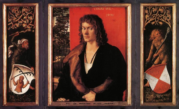 Albrecht Dürer's portrait of Oswalt Krel