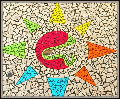 Caguas Mosaic Sidewalk